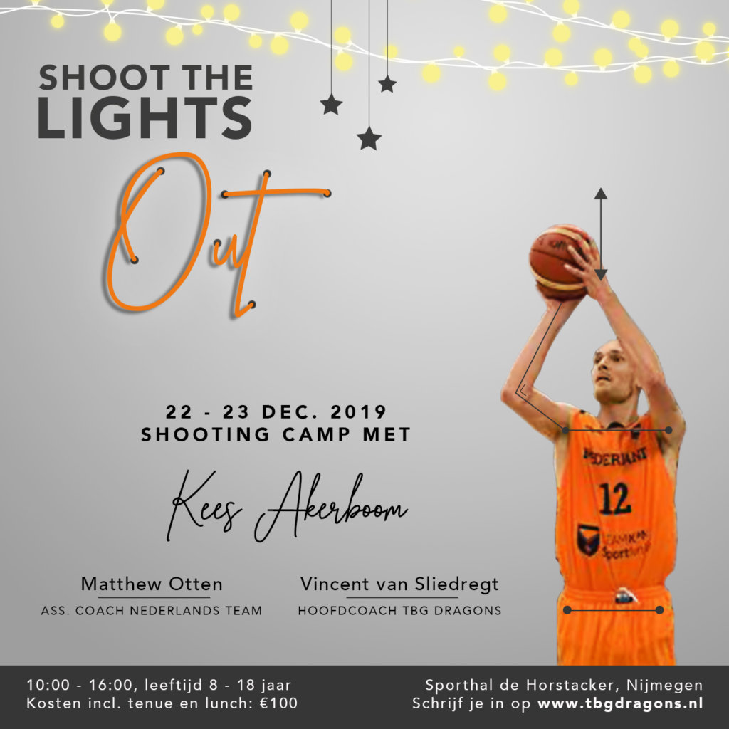 Shoot the lights out camp | Geef je op!